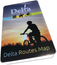 Rout Map - http://www.delta.ca/docs/default-source/parks-recreation-and-culture/delta-bike-routes.pdf?sfvrsn=4
